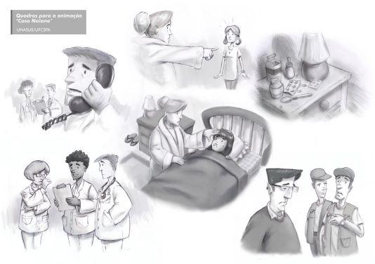 Animação Caso Naiane