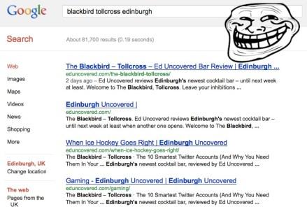 The Blackbird Edinburgh