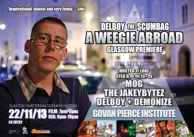 Glasgow delboy scumbag