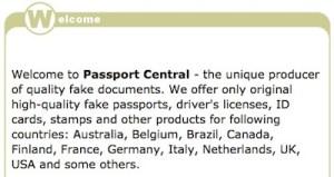 buy fake passport