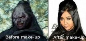 snookie makeup