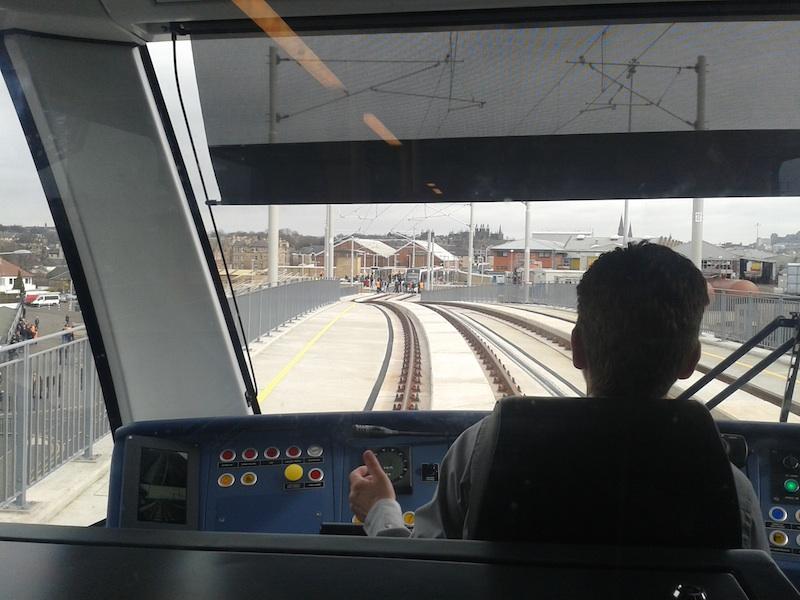 edinburgh trams driver