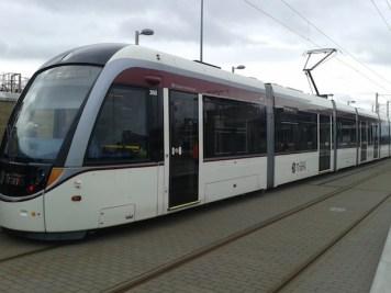 edinburgh trams murrayfield station