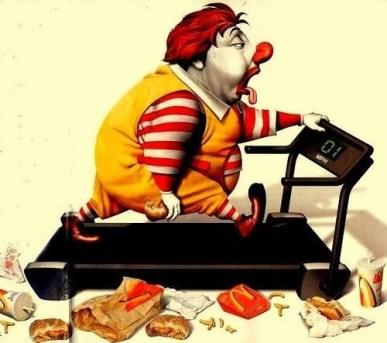 ronald mcdonald treadmill