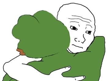 sadfrog feels guy