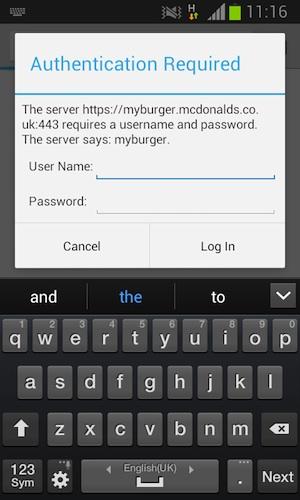 server says my burger