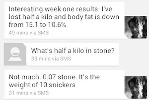 week one results