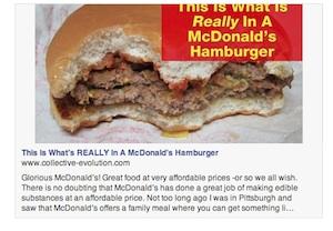 what's in mcdonalds