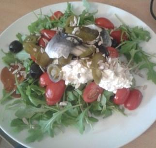 Rollmop salad: mighty fine.