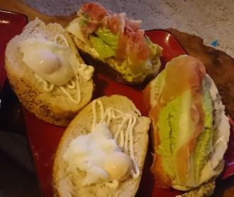 My sandwich: healthier than hers
