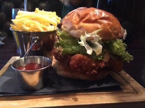 lebowskis burger glasgow
