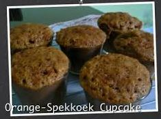 Orange-Spekkoek Cupcake