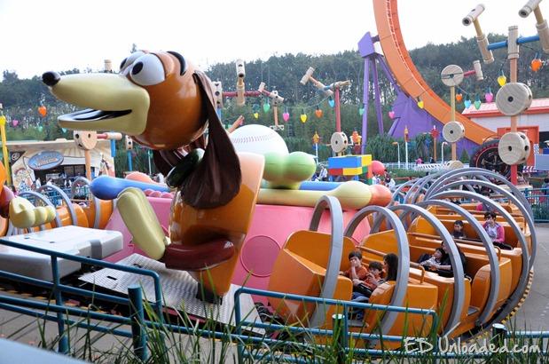 slinky the dog ride