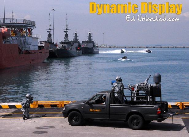 Navy dynamic display