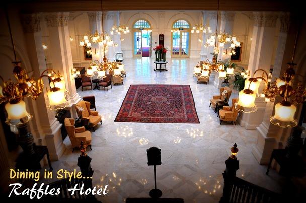 Raffles Hotel Hall