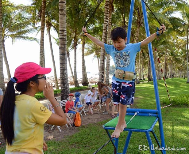 club med tightrope