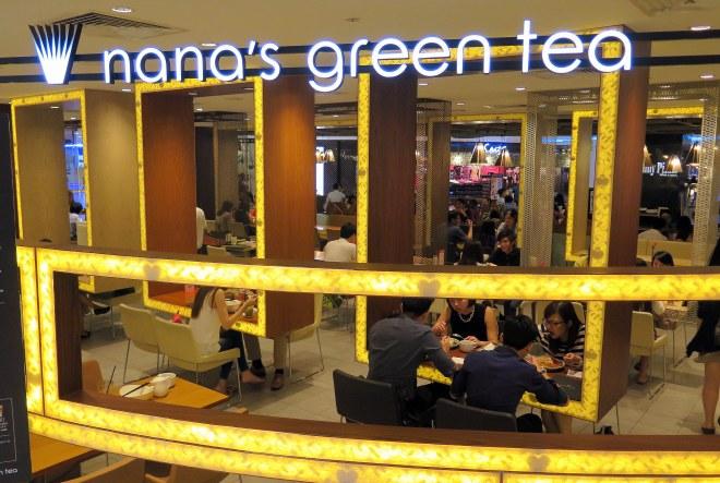 nana green tea