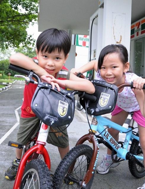 fatherhood bicycle