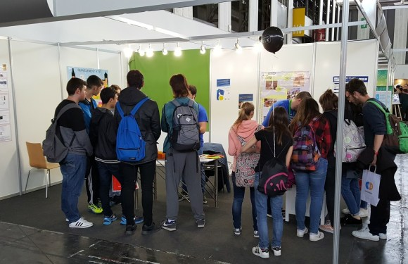 Segon dia a l'Espai Ciència, a Barcelona