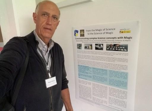 Pòster al congrès #soma17 de Londres, sobre la ciència de la màgia