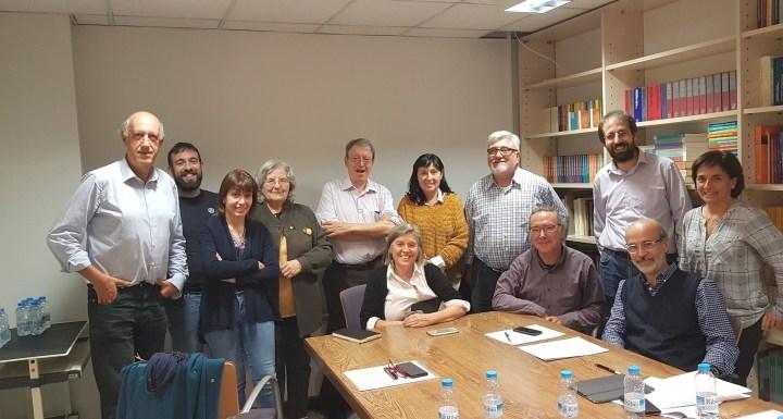 A la reunió del Comité Catalitzador de l'#aitp2019