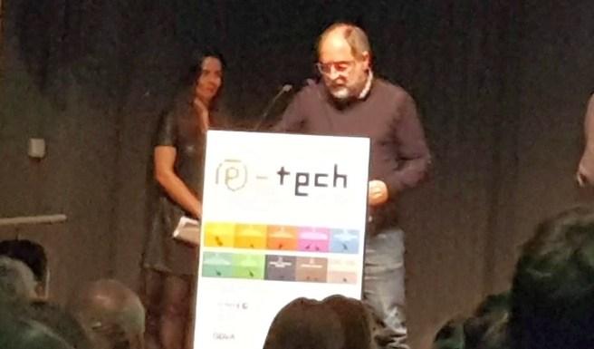 A l'entrega dels Premis e-Tech 2019