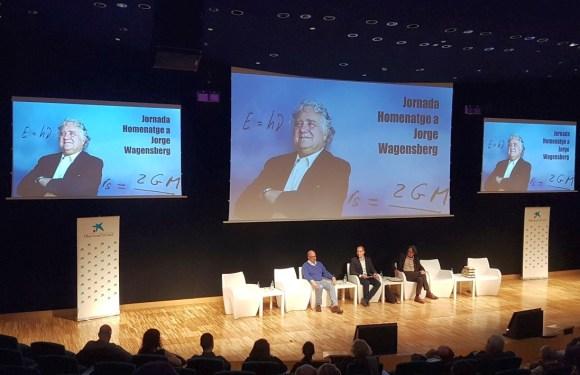 A l'homenatge a Jorge Wagensberg a Cosmocaixa Barcelona