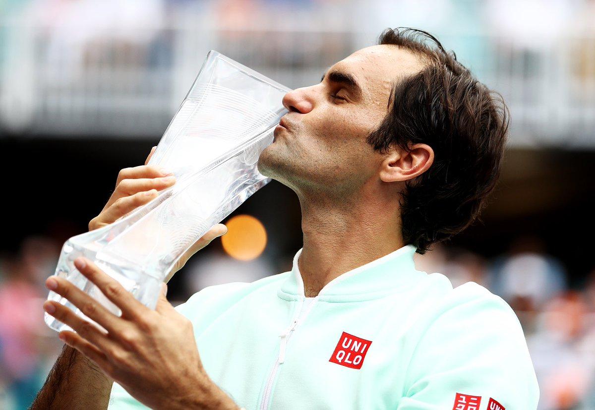 Do Mestre Federer para seus alunos