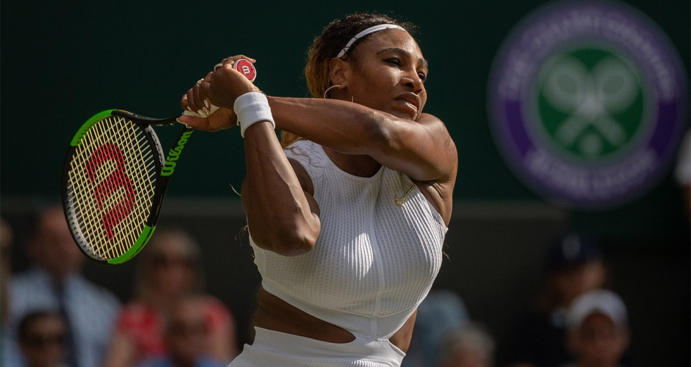Serena Williams 2019 Wimbledon estreia