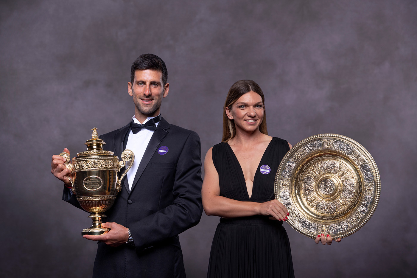 Djokovic e Halep: os campeões de Wimbledon
