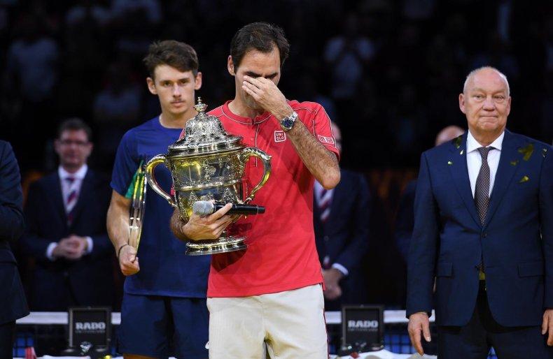 Roger Federer ATP da Basileia 2019 Campeão