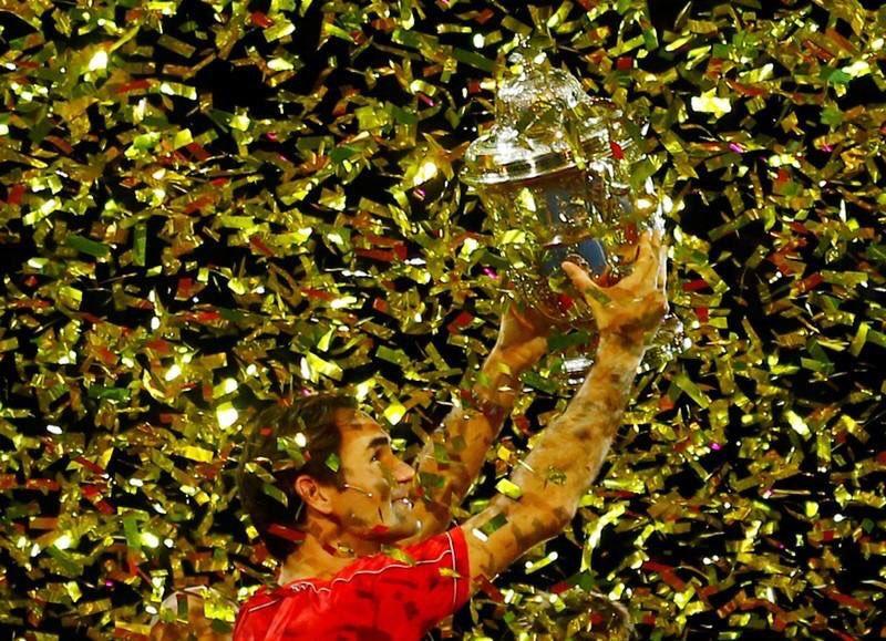 A plenitude de Federer na Basileia