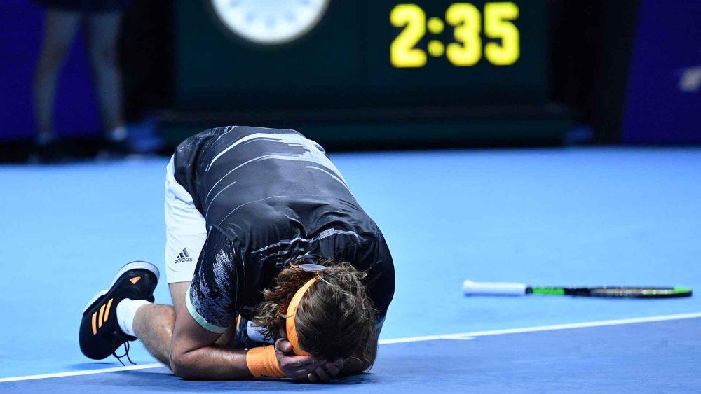 Stefanos Tsitsipas 2019 ATP Finals