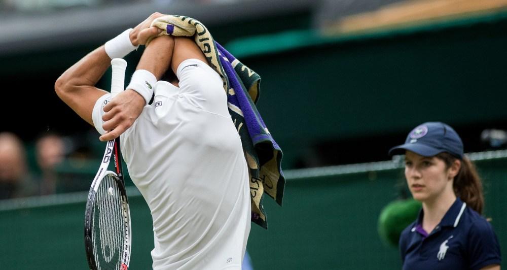 Novak Djokovic Cotovelo de Tenista Tennis Elbow