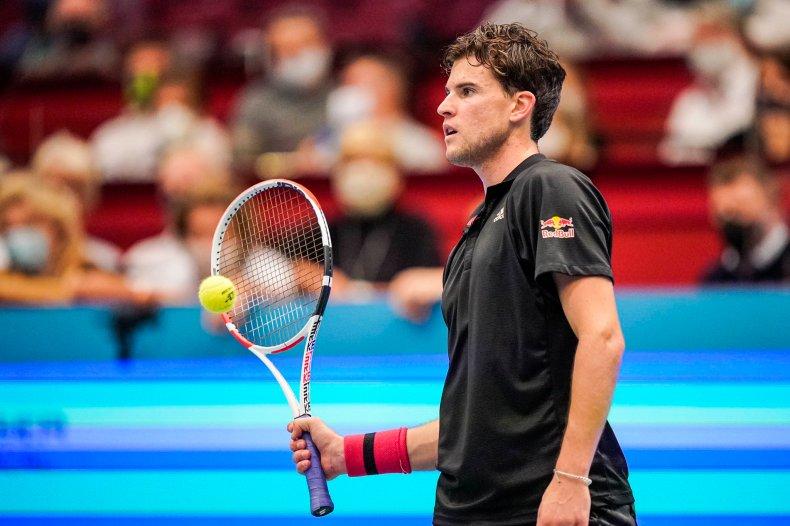 como evoluir o nível no tênis. dominic thiem 2020
