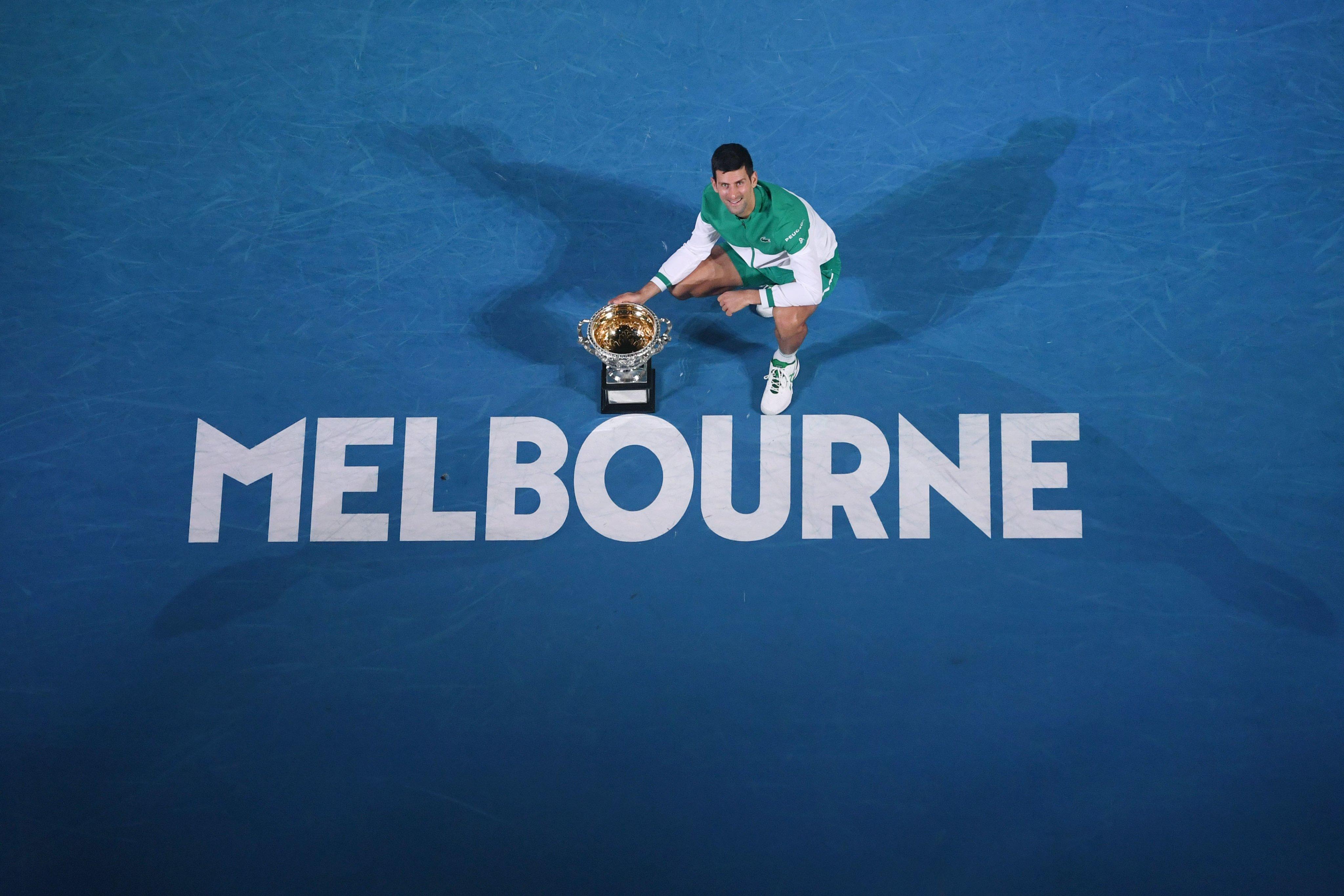 Djokovic e Osaka reinam no Australian Open