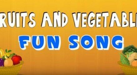 Top 5 Educational Songs, Rhymes & Videos for Children | Fruits and Vegetables Songs & Rhymes for Children | Making kids learning fun