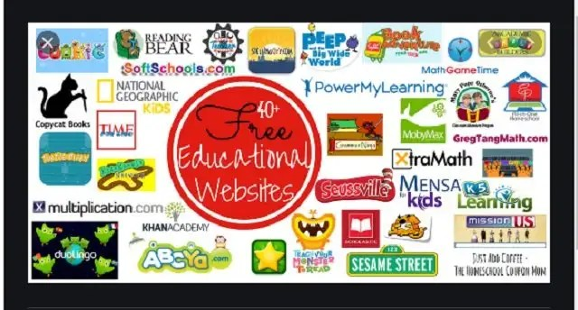 Free education websites for distance learning