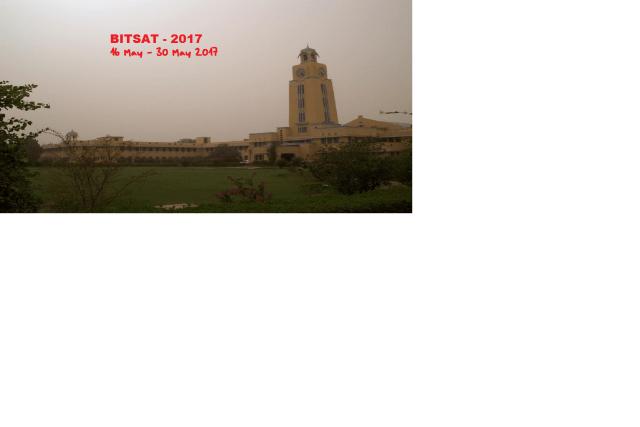 bitsat 2017