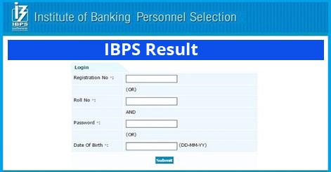 IBPS PO 2018 Results