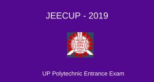 JEECUP 2019