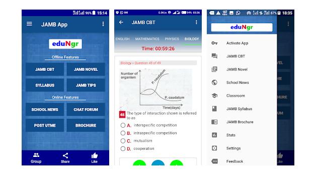 JAMB CBT App