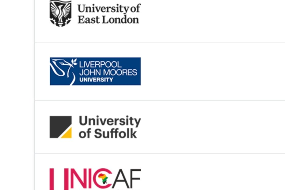 UNICAF selected universities