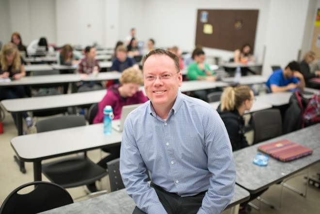 Ken MacMIllan open classroom week