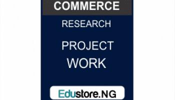 Public Administration Project Topics And Materials PDF & DOC