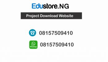 Statistics Project Topics and Materials PDF & DOC Download