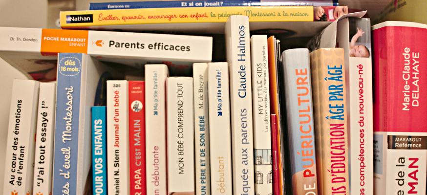 Livres d'éducation (éducation positive, Montessori, jeu, zen...)