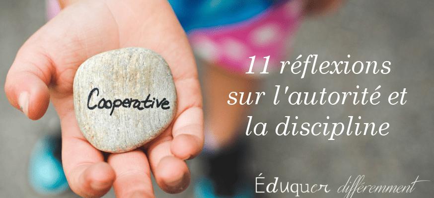 11 réflexions sur l'autorité et la discipline