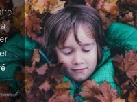 Aider votre enfant à retrouver calme et sérénité