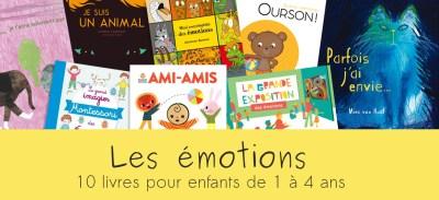 Livres pour enfants sur les émotions | 10 albums à découvrir
